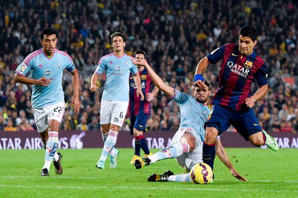 Live Celta Vigo - Barcellona in Liga Spagnola
