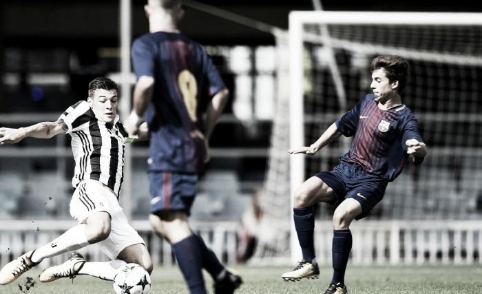 Youth League - Perez stende la Juve nel finale: 1-0 Barcellona