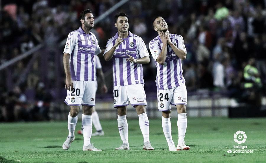 Dembelé dio la victoria por la mínima al Barcelona en Zorrilla