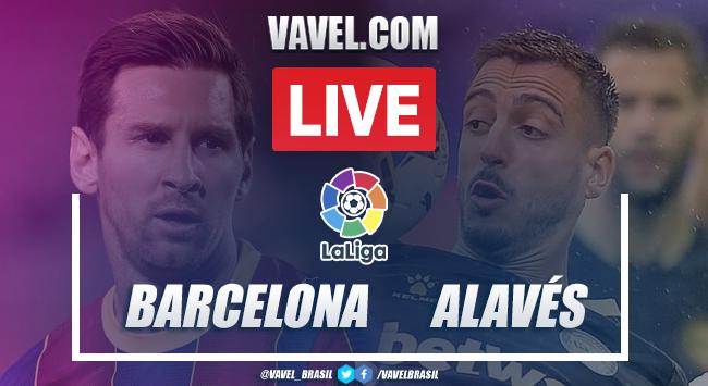 Gols e melhores momentos de Barcelona 5 x 1 Alavés pelo Campeonato Espanhol