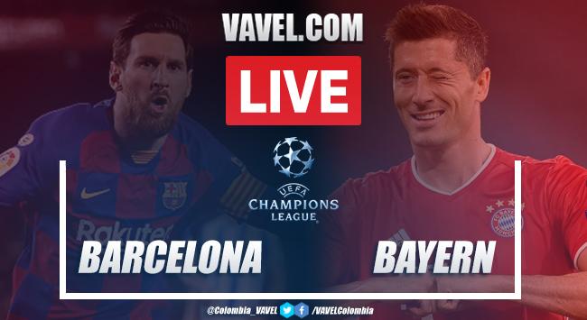 FC Barcelona vs Bayern Múnich en vivo HOY: partido online por Champions League 2020