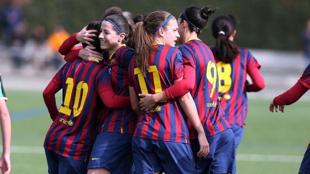 El FC Barcelona, campeón de Liga