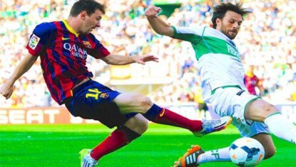 Barcelona - Elche: puntuaciones del Elche, ida de octavos de la Copa del Rey