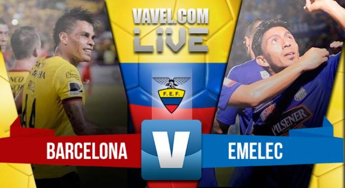 Resumen Barcelona 1-2 Emelec en Liga de Ecuador 2016