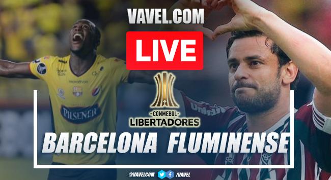 Goals and Highlights: Barcelona SC 1-1 Fluminense in Copa Libertadores 2021