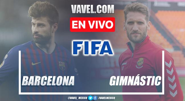 Goles y resumen del Barcelona 4-0 Gimnásticen Partidos Amistoso 2021