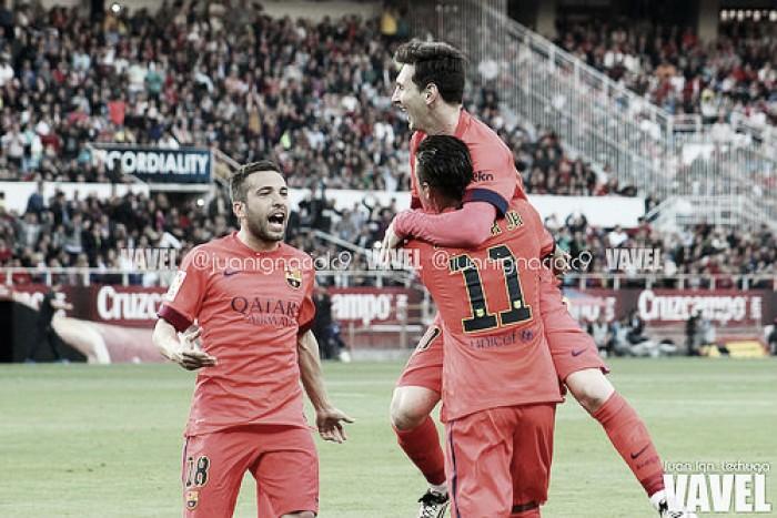 FC Barcelona - Atlético Madrid: puntuaciones del Barcelona, jornada 22 Liga BBVA