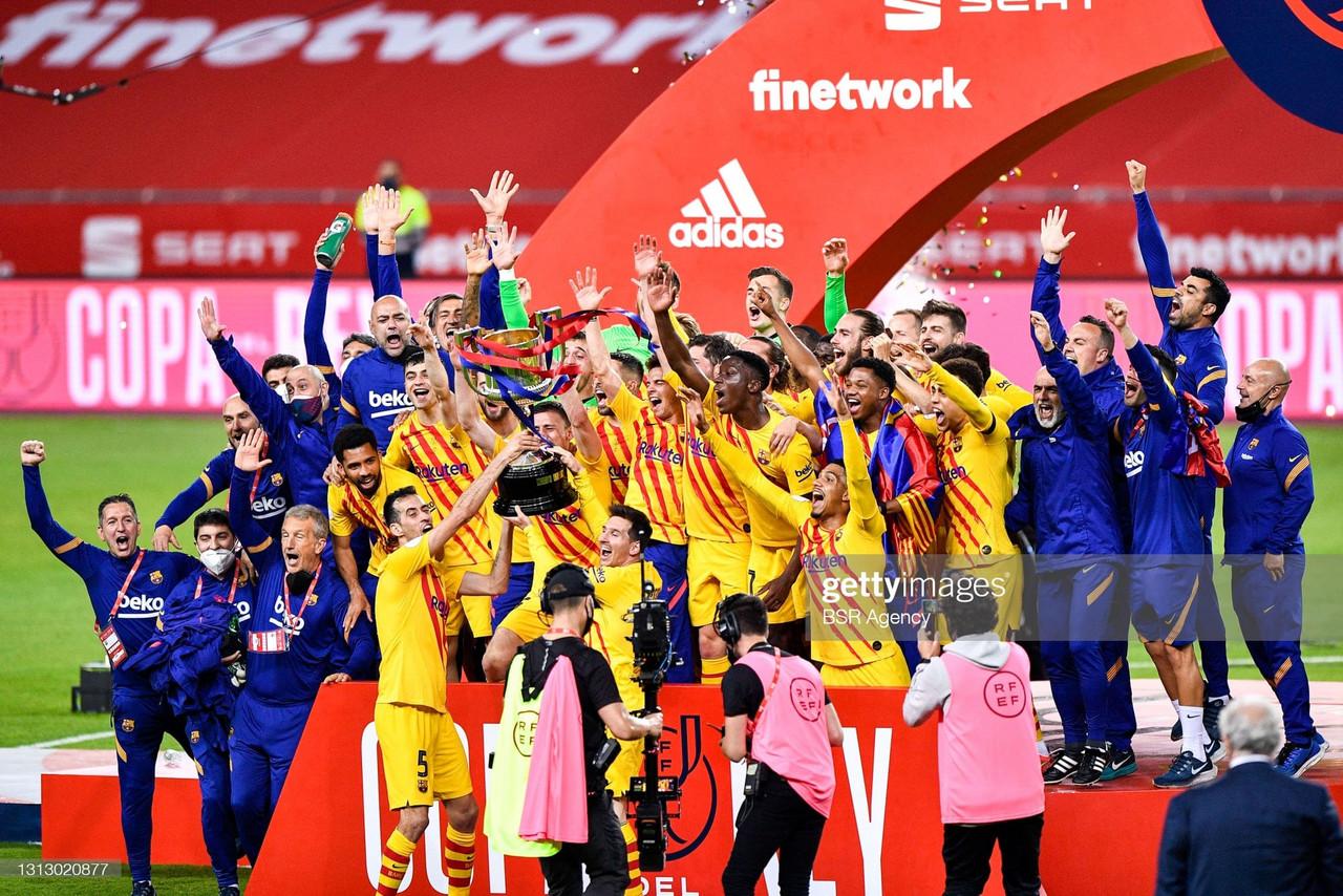 The warmdown: Record-breaker Lionel Messi dazzles as Barcelona lift the Copa Del Rey