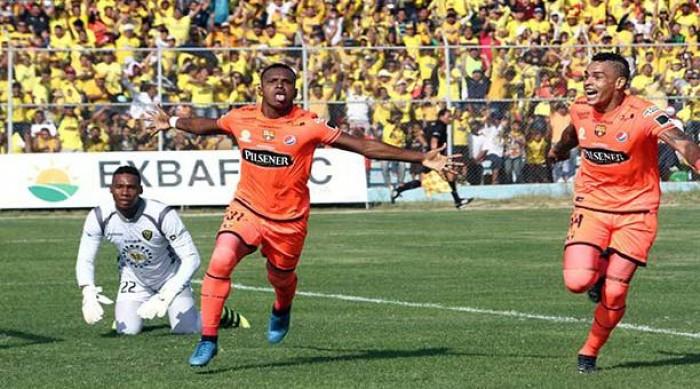 A pesar del empate ante Fuerza Amarilla, Barcelona SC es líder