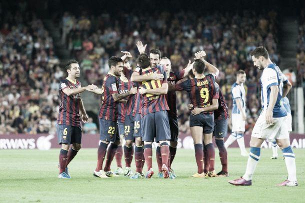 Resultado Almería - Barcelona en Primera División 2014 (0-2)