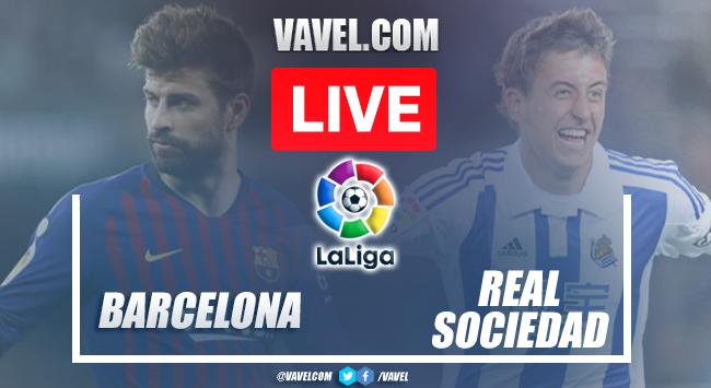 Goals and Highlights: Barcelona 4-2 Real Sociedad in LaLiga