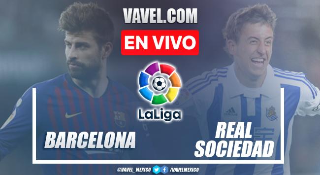 Goles y resumen del Barcelona 4-2 Real Sociedad en LaLiga 2021