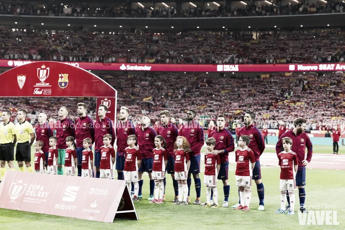 Sevilla FC - FC Barcelona: puntuaciones del Barcelona Final de la Copa del Rey
