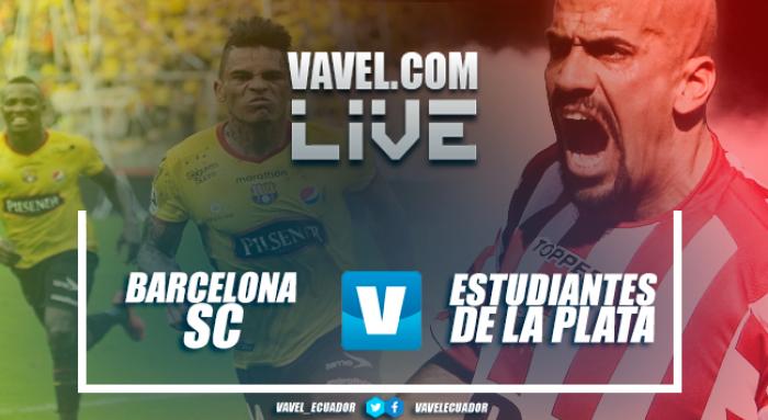 Barcelona SC se hace fuerte en la Copa y silencia el Estadio Único de La Plata al vencer a Estudiantes por 0-2