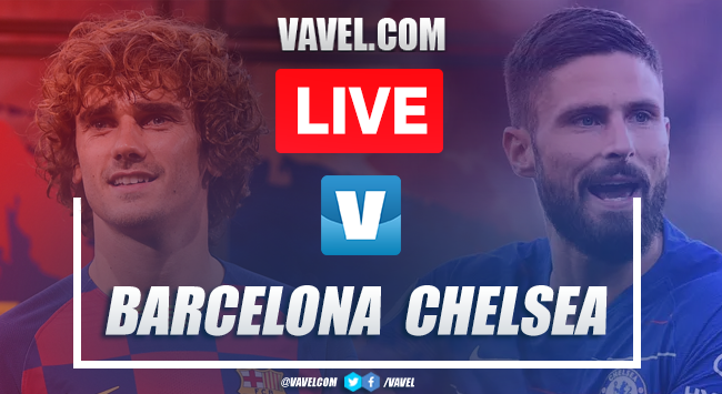 Barcelona vs Chelsea: LIVE Stream and Score Updates (0-0)