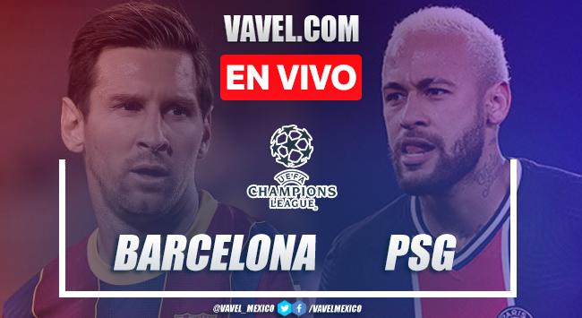 Goles y resumen: Barcelona 1-4 PSG en Octavos de Final de Champions League 2021