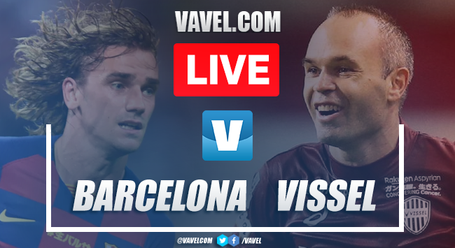 Barcelona vs Vissel Kobe: LIVE Stream Online and Updates (2-0)