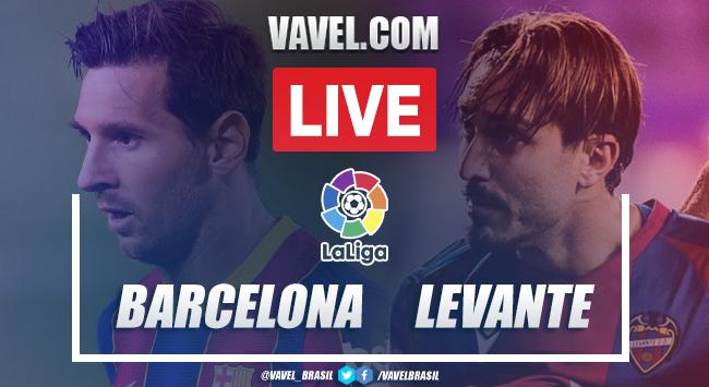 Gols e melhores momentos Barcelona 1x0 Levantepela LaLiga