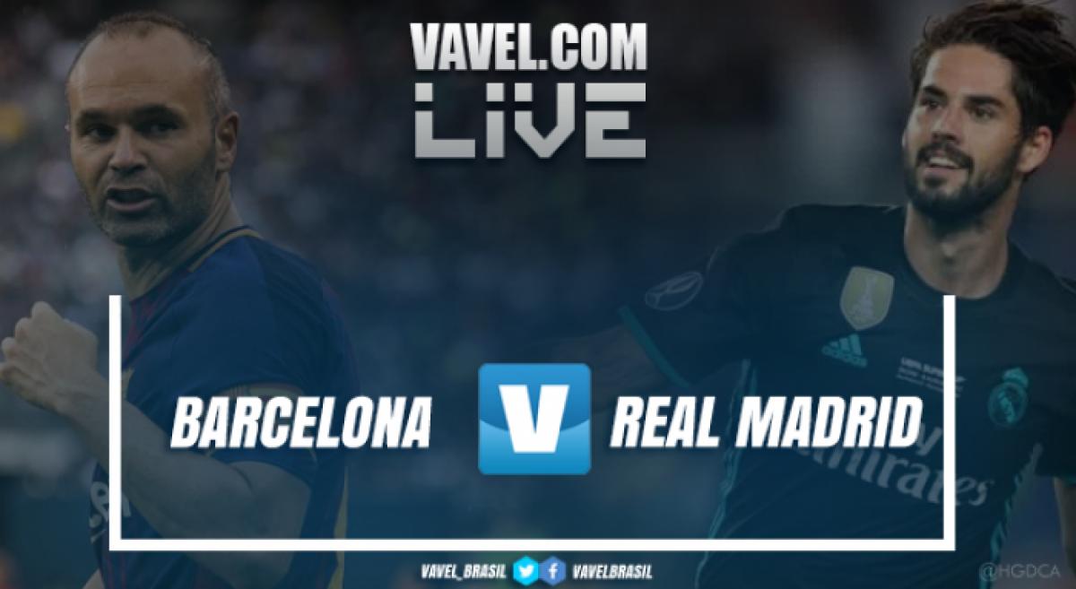 Barcelona e Real Madrid empatam pelo Campeonato Espanhol 2018 (2-2)