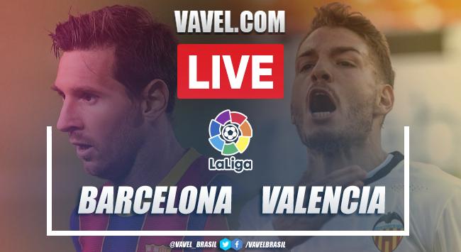 Gols e melhores momentos Barcelona 2x2 Valencia pela LaLiga