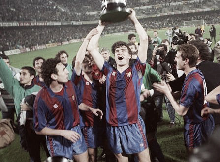 Serial Real Madrid - F.C Barcelona en Copa: -1989/90: La 'Quinta del Buitre' cedió su hegemonía al 'Dream Team'