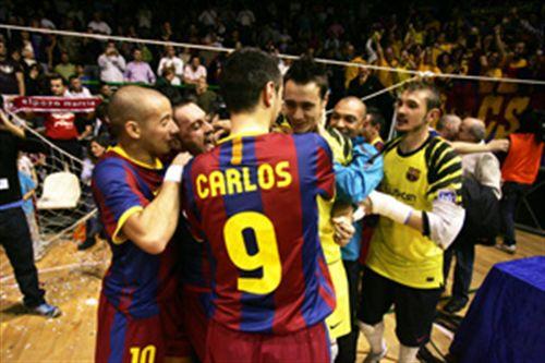 El Barça finiquita la semifinal, El Pozo e Inter Movistar tendran que esperar
