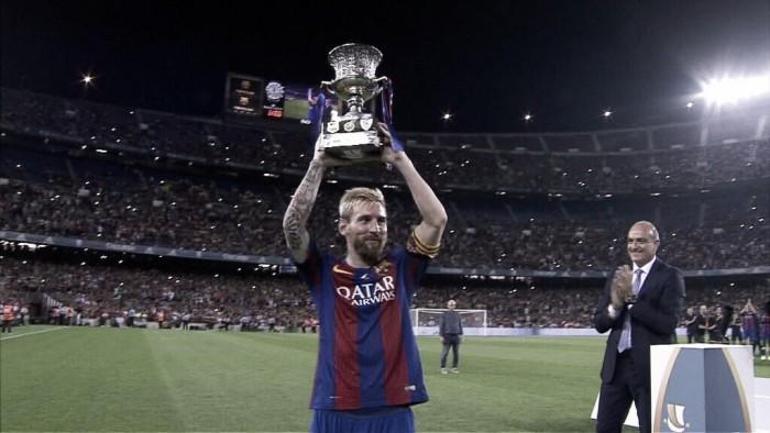 Barcelona goleia Sevilla com show de Arda Turan e conquista a Supercopa da Espanha