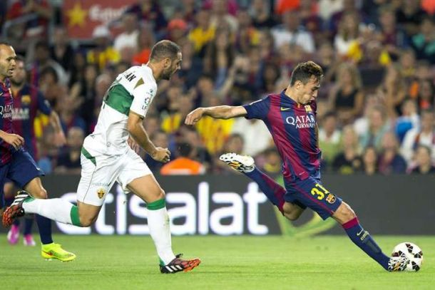 Estreno con derrota ante un Barcelona que no dio opciones
