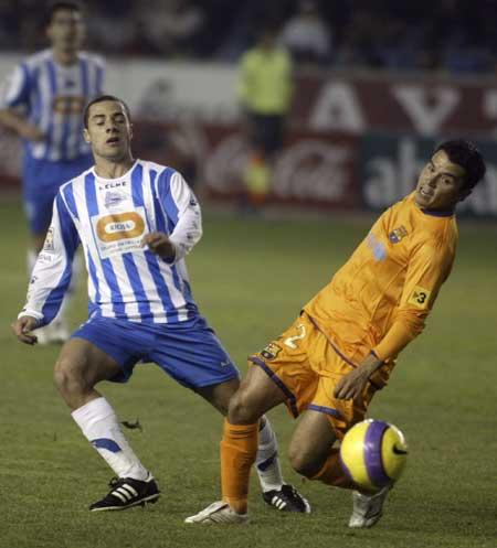 El Alavés, primer rival en Copa