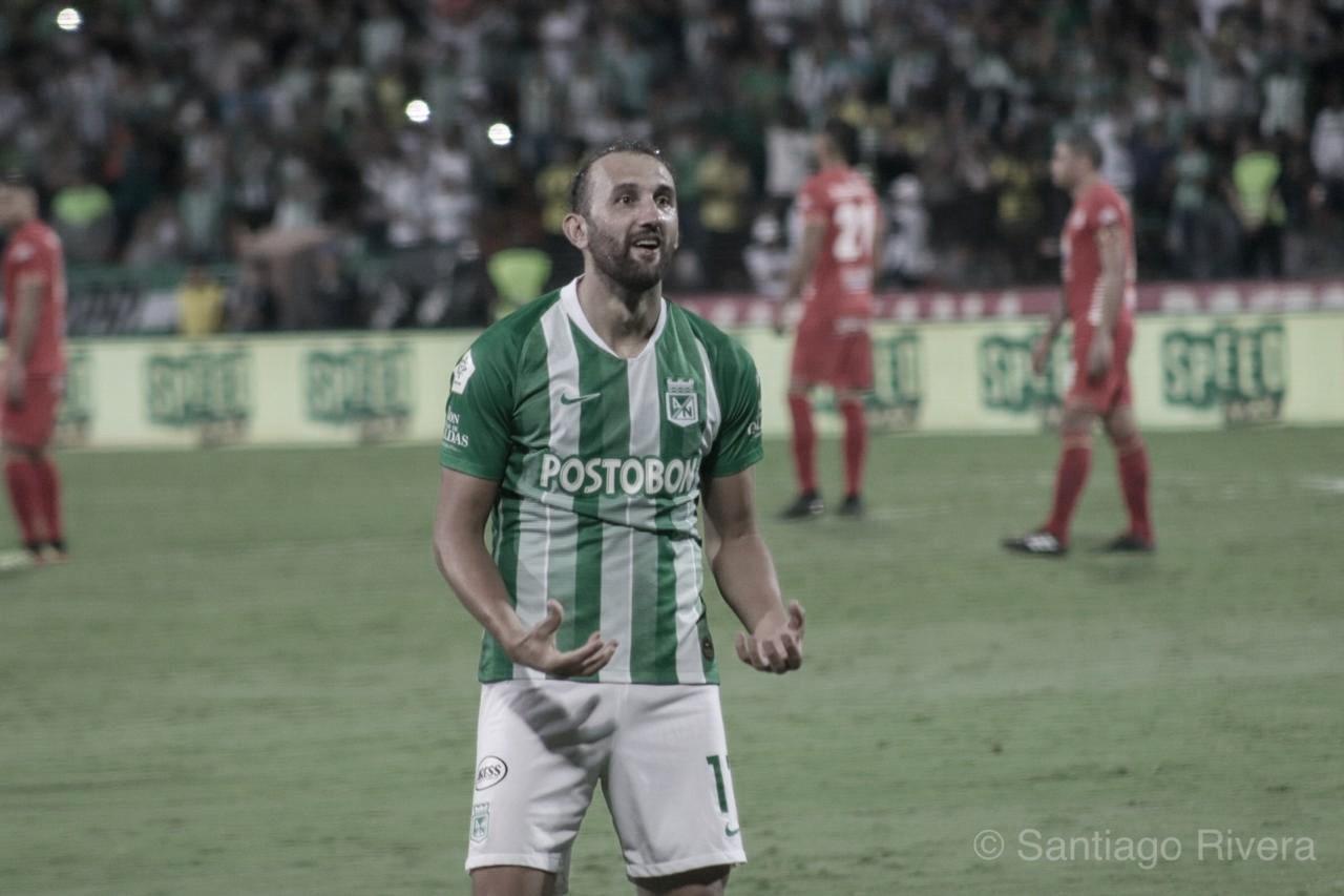 """Hernán Barcos: """"Vamos a pelear hasta el final para conseguir el objetivo que es el campeonato"""""""