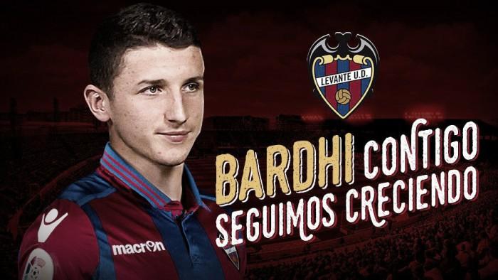 Bardhi, nuevo jugador del Levante UD