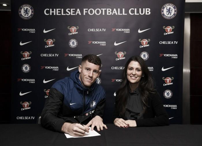Chelsea acerta a contratação de Barkley