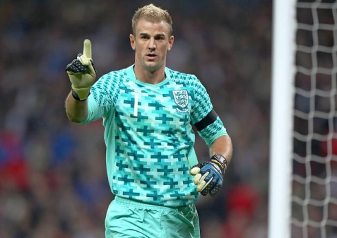 """Joe Hart, England's number one"""