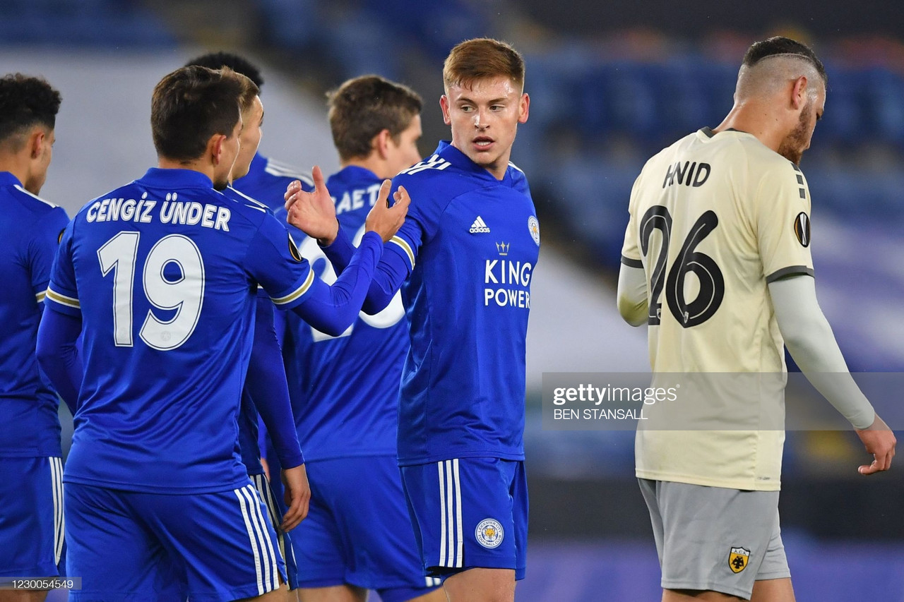 Leicester City 2-0 AEK Athens: Foxes win group with comfortable win
