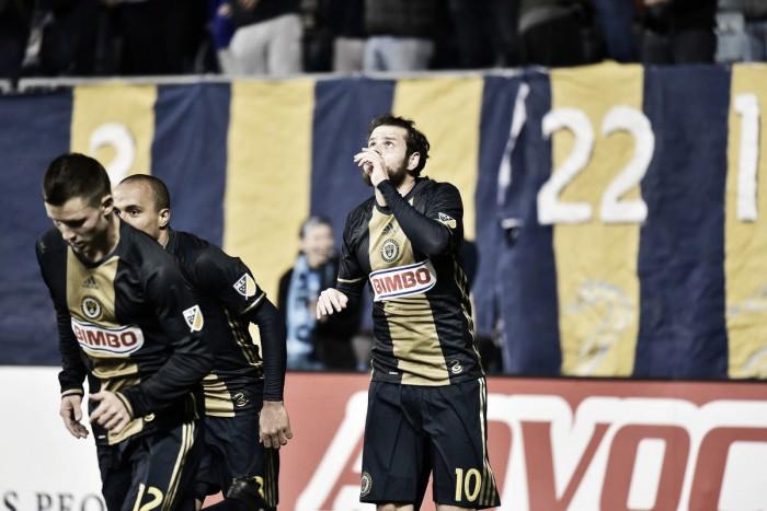 MLS Regular Season: Philadelphia Union vs. San Jose Earthquakes Live Updates and Results of 2016 Major League Soccer (1-1)