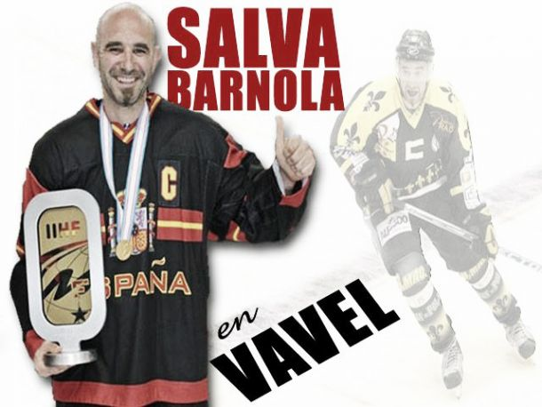 """Entrevista. Salva Barnola: """"El hockey me viene de familia"""""""