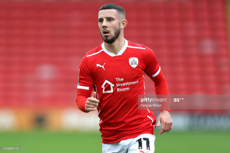 Barnsley's Conor Chaplin scored a hat-trick in this fixture at Oakwell last season. Photo: George Wood/Getty Images.