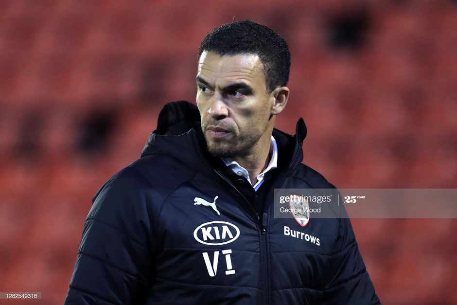 Valerien Ismael has won two games from two as Barnsley head coach. Photo: George Wood/Getty Images.