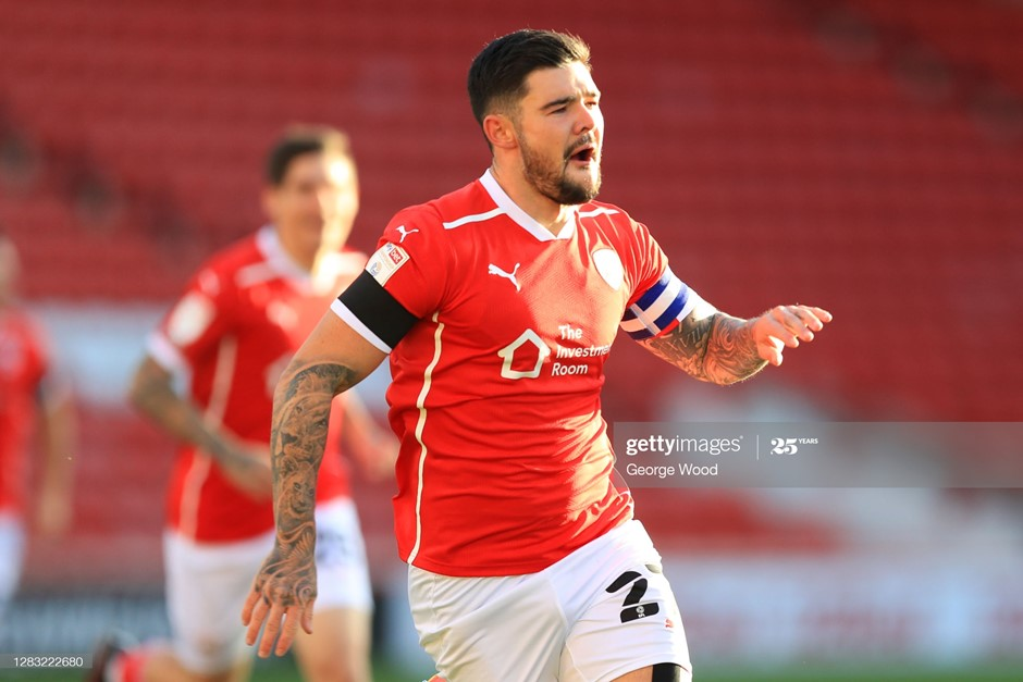 Barnsley skipper Alex Mowatt has started every match in all competitions this season. Photo: George Wood/Getty Images.