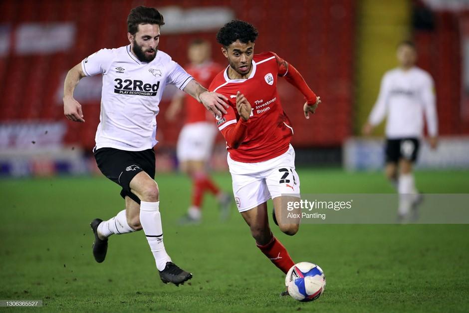 Barnsley 0-0 Derby County: Rams end Reds' winning run