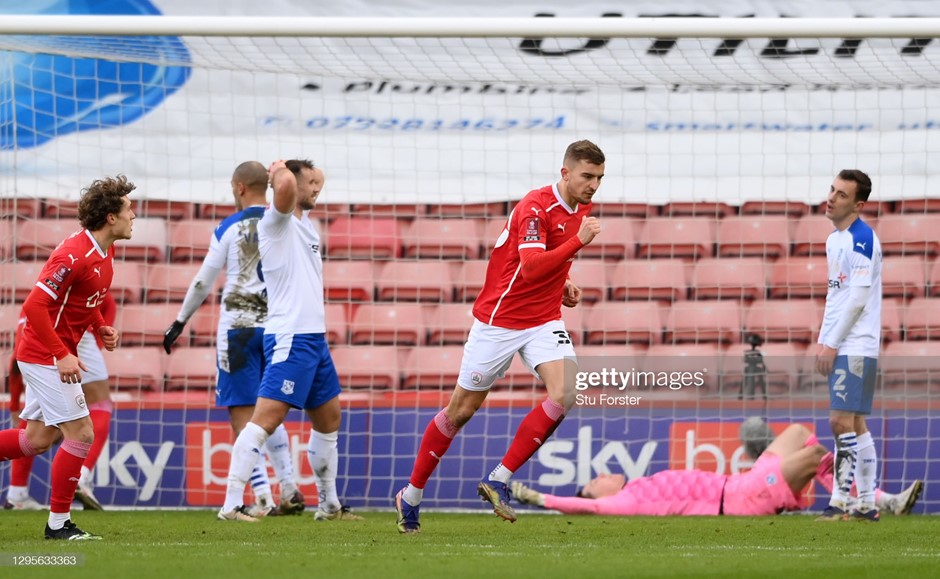 Barnsley 2-0 Tranmere Rovers: Reds safely into fourth round
