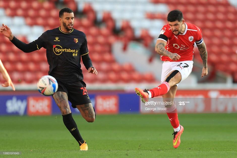Barnsley 1-0 Watford: Mowatt leads Reds to victory