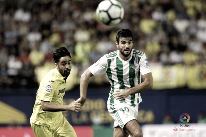Barragán vistiendo la elástica verdiblanca. Fuente: La Liga