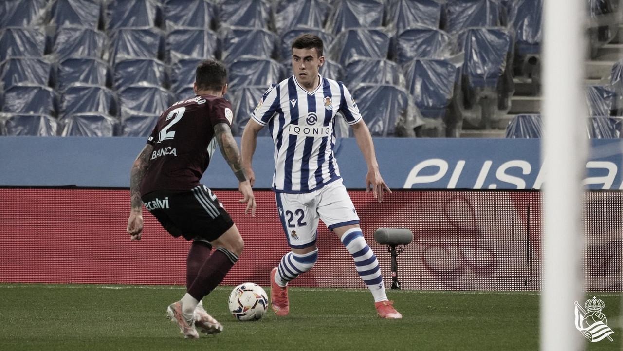 Real Sociedad - RC Celta de Vigo: puntuaciones de la Real Sociedad, jornada 31 de LaLiga