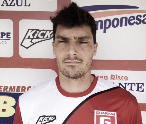 Rafael Barrios não é mais goleiro do Guarani-MG
