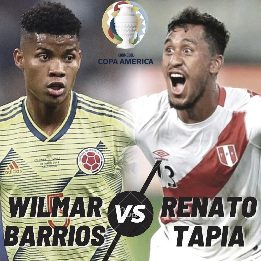 Cara a cara: Wilmar Barrios vs. Renato Tapia