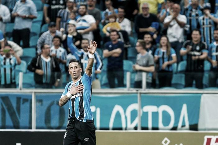 Sem espaço no Palmeiras, Barrios se torna um dos artilheiros do Grêmio e esperança nas copas