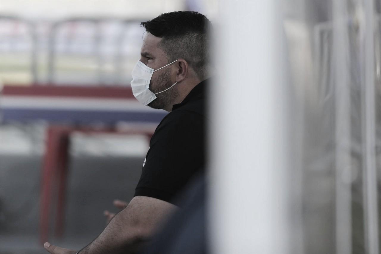 Barroca elogia volta do Coritiba, mas diz que time está 'pegando o ritmo novamente'