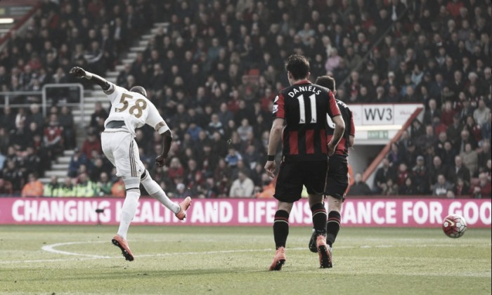 Bournemouth 3-2 Swansea City: Main talking points in a thrilling gamedown South