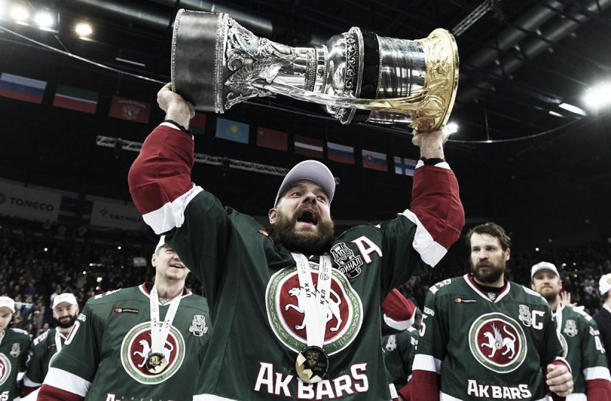 AK Bars Kazán campeón de la Copa Gagarin 2018